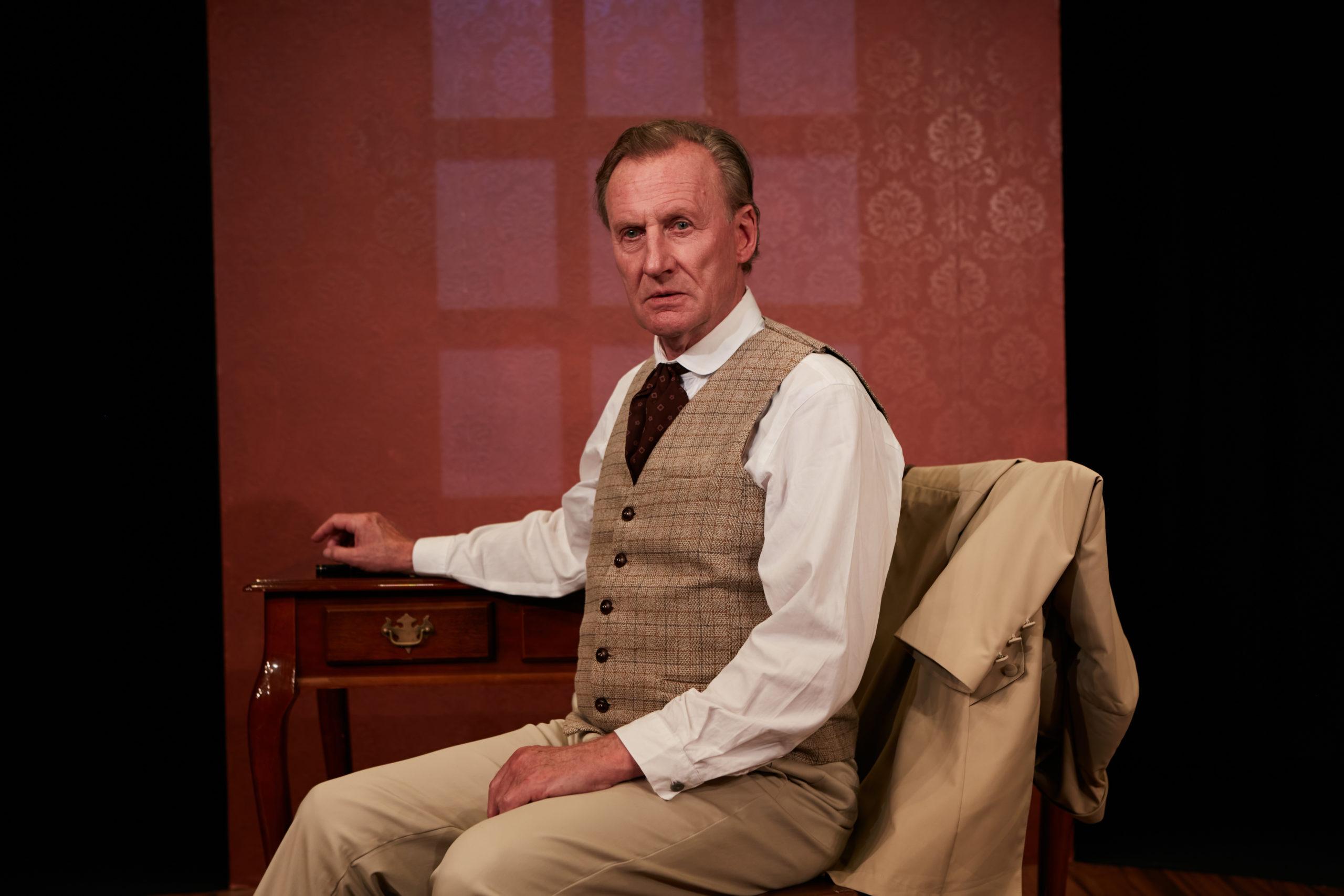 Daniel Gerroll as Dr. Glas. Photo: Aaron Rumley.