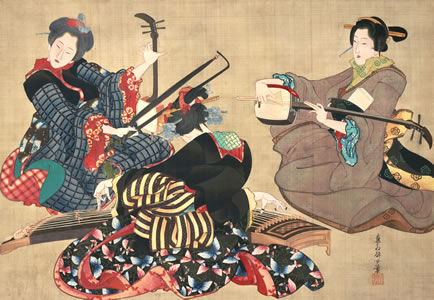Drama and Desire: Japanese Paintings from the Floating World, 1690-1850