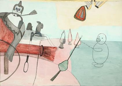 'Not What It Seems', Karen Sullivan, First Street Gallery, Eureka, CA – review by Neila Mezynski