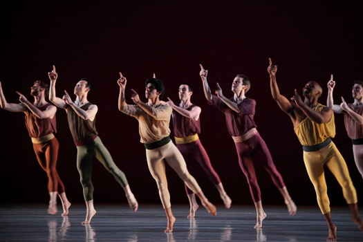 Mark Morris Dance Group,  'L'Allegro,' LA