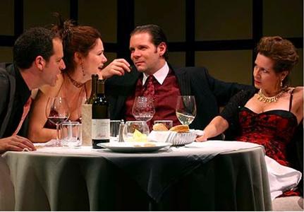 'Celebration' and 'The Room', Atlantic Theatre Company, New York