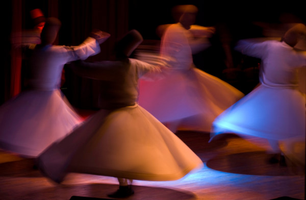 The Whirling Dervishes, SF